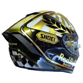 Racing-Full-Face-Safe-Strong-Motorcycle-Helmet-Red Bull