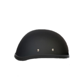 Black-Plain-Motorcycle-Riders-Helmet