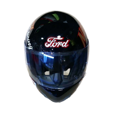 Full-Face-Ford-Motorcycle-black-Safe-Protection-Riders-Helmet