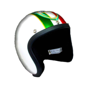 Vespa-Motorcycle-Custom-Paint-Italian-Style-Riders-White-Helmet